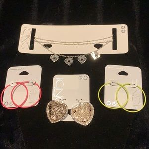 🏷 Icing - Mixed Jewelry lot - All NWT